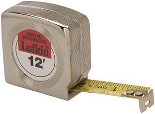 Lufkin Tape Short Engr MEZURALL3/4X12 W9312D (W9312D)