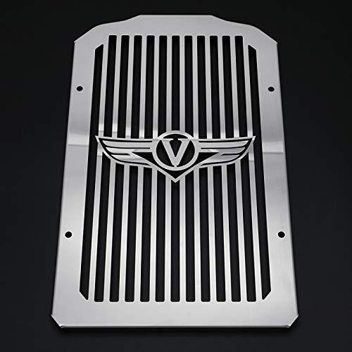 Radiator Cover Shrouds Bezel Grill Grille Guard For Kawasaki Vulcan 900 VN900 Custom 2006-2019 Chrome