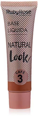 Base Natural Look, Ruby Rose, Cor 3
