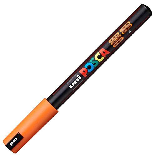 Uni-Ball marqueur peinture Posca (PC-1MR), orange foncé