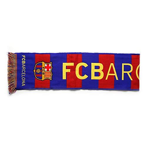 Bufanda Telar Oficial FC BARCELONA - Vertical - 120x20cm - Producto Licenciado