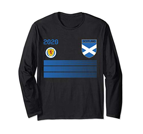 Scotland Football Jersey 2020 Scotland Soccer Long Sleeve T-Shirt
