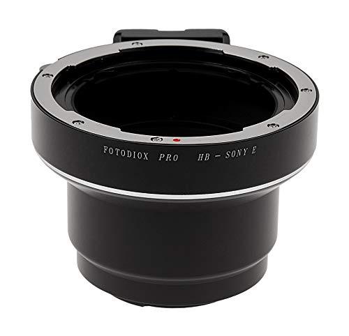 Fotodiox Pro Adaptor de Montura de Lente para Lente Hasselblad V a Cámaras Sony Alpha, NEX, E Mount