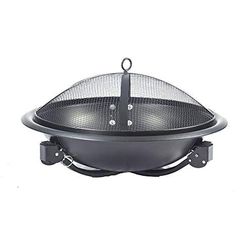 41hxjNBAFwL - X&JJ Tragbare BBQ Grill, Feuerstelle Herd japanische Art-Aluminiumlegierung Charcoal Grill Grill Zubehör Barbecue-Ofen
