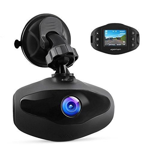 APEMAN ドライブレコーダー 小型ドラレコ 1080P Full HD 1200万画素 超高画質 車載カメラ 防犯カメラ WDR 駐車監視 衝撃録画 高速起動