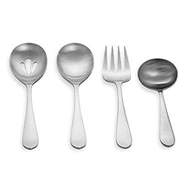 Silversmiths Meridian Satin 4-Piece Hostess Set by Cambridge®