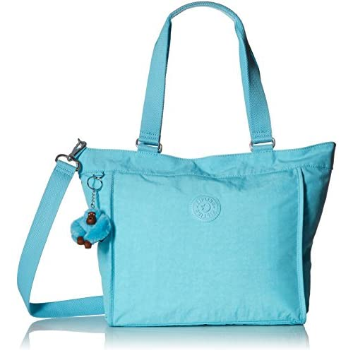 Kipling New Shopper S Black Tote Bag, Bluesplash (Blu) - TM5492