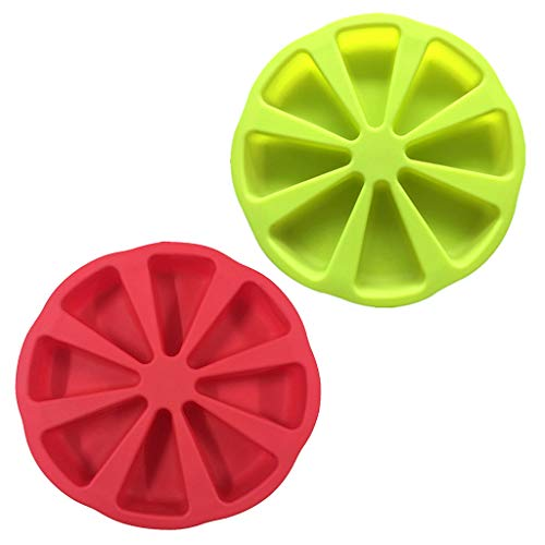 IOOOFU Bakeware Molds Cake Pan Silicone Cake Mold Pudding Triangle Cakes Mould Muffin Baking Tools Fondant Cake Molds