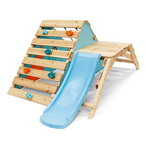Plum 27203 Toddler Wooden Playcentre, Climbing Frame, Slide, Multi-Colou