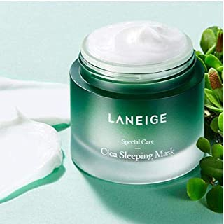 Laneige Cica Sleeping Mask 60ml powerful sleeping mask nourishes, revives fatigued skin while reinforcing skin barrier at ...