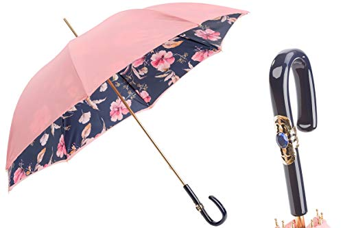 Learn More About Pasotti 189 5F211-11 C26 - Pink Umbrella with Flowers
