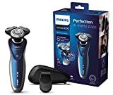 Philips S8980/13 Series 8000 - Afeitadora eléctrica en seco y húmedo (cuchillas de precisión V-Track, recortador de precisión)