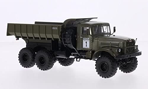 Start Scale Models-Voiture-Maz-502 4X4 avec Tente, SSM1181