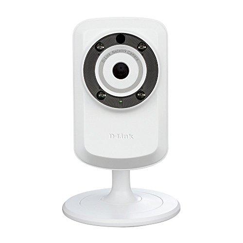 D-Link DCS-932L Videocamera di Sorveglianza Cloud, Wireless N, Day&Night, Bianco [Importato da UK]