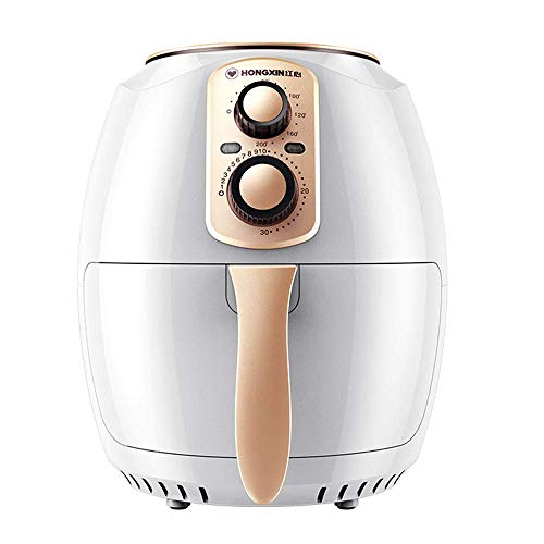 ZGYQGOO Air Fryer Home Smart 3.8l Große Kapazität Vollautomatische Pommes Frites Maschine Ölfreie elektrische Friteuse Präzisions-Timing-Temperaturregelung