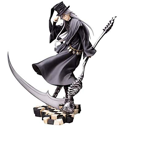 Jqchw Anime Model PVC Figure 26CM Black Butler Book of Circus Undertaker ArtFX J Statue Figure Characters Statue Figurine Collection Toys Gift