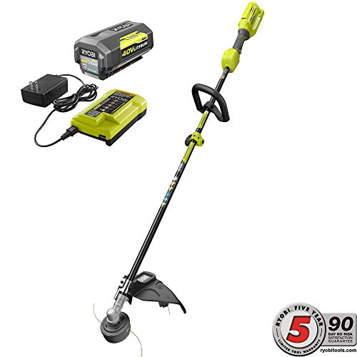 Visit the RYOBI 40-Volt Lithium-Ion String Trimmer, 4.0 Ah Battery and Charger Included on Amazon.
