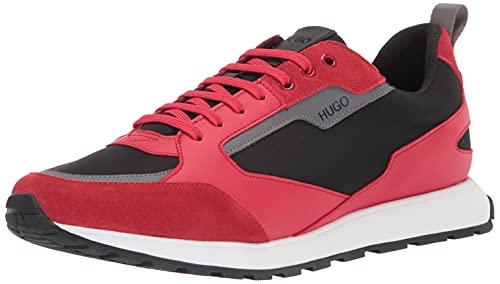 HUGO by Hugo Boss mens Sneakers Slipper, Red Apple, 12 US