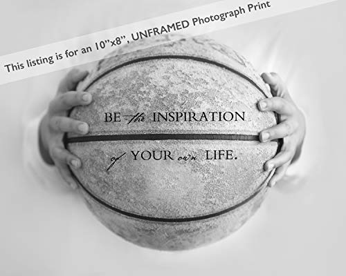 Sports Motivational Wall Art, Basketball Sports Theme Room Décor for Little Boys, Graduation Inspirational Gifts, Baby Boy Nursery Décor Sports