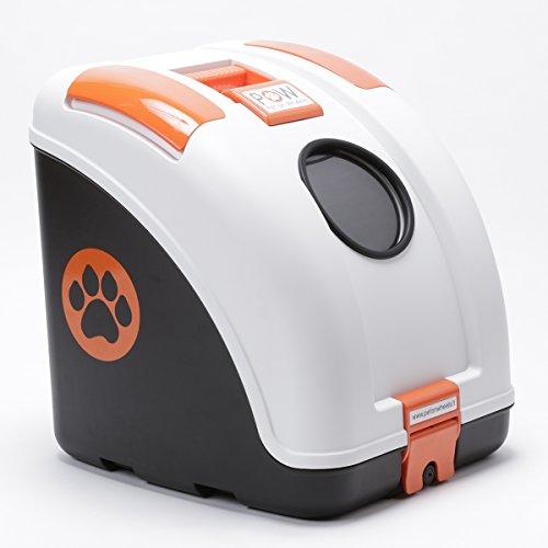 POW - Pet On Wheels(ペット・オン・ホイールズ) ホワイト×オレンジ