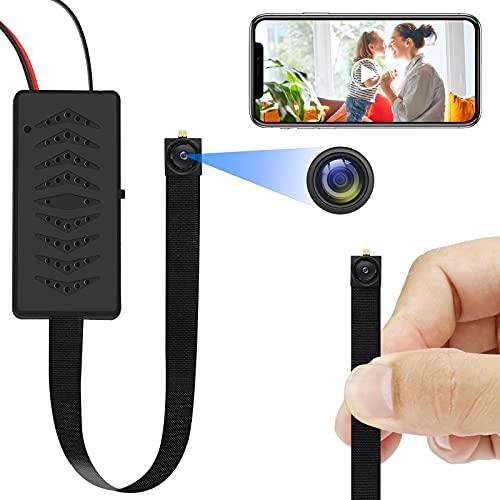TANGMI Mini Kamera , HD1080P WiFi Kamera Überwachungskamera Tragbare WLAN Kamera mit Bewegungserkennungswarnungen & Nachtsicht & APP-Wiedergabefunktionen, Geeignet für Android & iOS