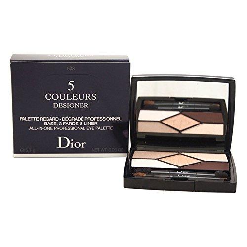 Dior 71747 - Sombra de ojos, 5 Couleurs Designer, 5.7 gr, 508-Nude Pink