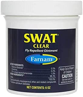 Farnam SWAT Fly Repellent Ointment for Horses, Ponies and Dogs