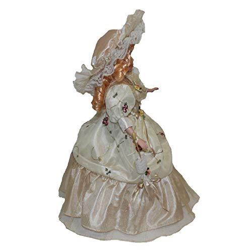 perfeclan Bambole in Porcellana da 16 Pollici in Porcellana Vittoriana in Stile Vittoriano