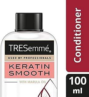 [Tresemme] Tresemmeケラチンは、コンディショナー100ミリリットルを復元スムーズ - TRESemme Keratin Smooth Restoring Conditioner 100ml [並行輸入品]