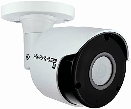 Night Owl Security Add on Wired 4K UHD IP Camera with Audio White CAM IH8 BA product image