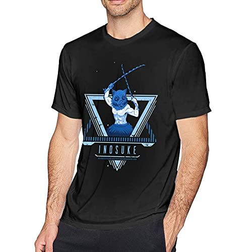 XCNGG Niños Camisetas de algodón de Manga Corta para Hombre Camisetas Divertidas y Ajustadas con Cuello Redondo