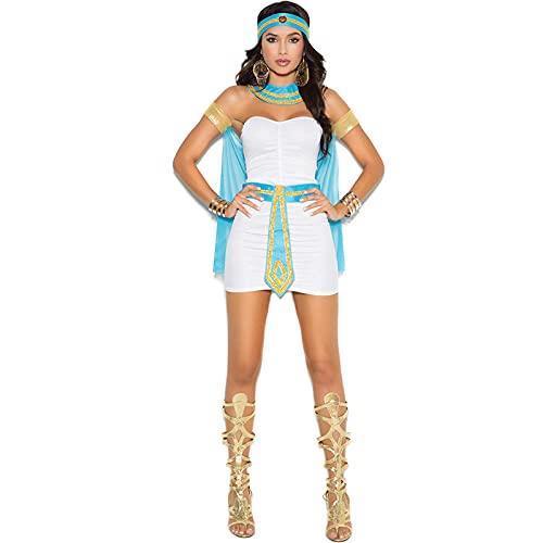 Disfraz de princesa romana para mujer, diosa griega, medieval, disfraz para mujer