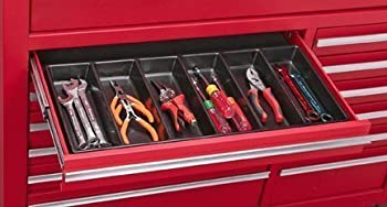 US General 99729 6 Compartment Drawer Organizer for Tools Nails Screws Tackle
