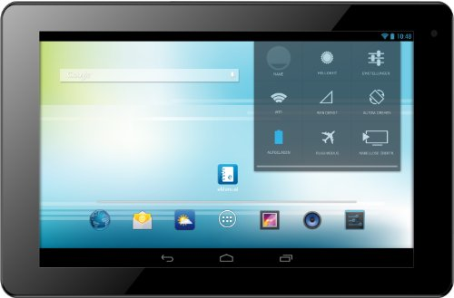 Odys Ieos Quad 25,7 cm (10,1 Zoll) Tablet-PC (Rockchip Quad Core Prozessor (4x1,6GHz), 1 GB RAM, 8 GB HDD, HDMI, Android 4.2.x, HQ Display, Bluetooth 4.0, OTA) schwarz