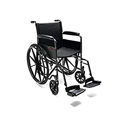 """Everest & Jennings Advantage LX Wheelchair, Everyday Value for Adult Use, 18"""" Seat from Graham-Field"""