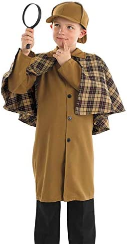 Sherlock holmes costume kids _image3