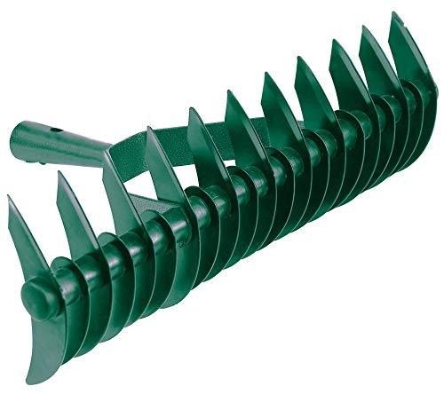 Schneidrechen Harke Rechen 36 cm Kultivator Rasenlüfter Rasenvertikutierer