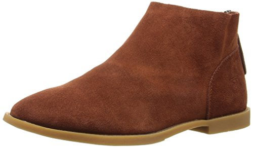 Dirty Laundry by Chinese Laundry Women's Karate Chop Bootie, Rust Suede, 9.5 M US