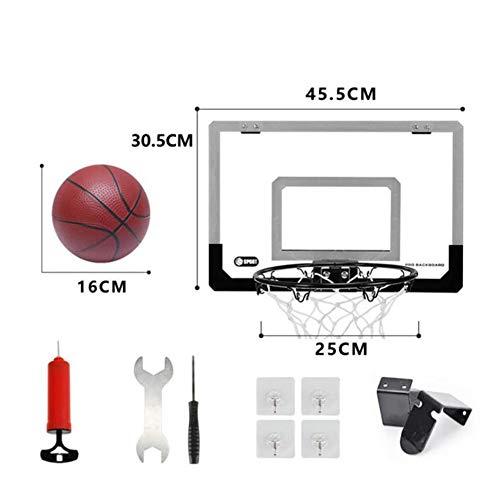 Admir Spielzeug Basketballkorb Für Kinder,wandmontage Flex Rim Mit Feder Indoor Outdoor,Mini Basketball Ring Über Der Tür B