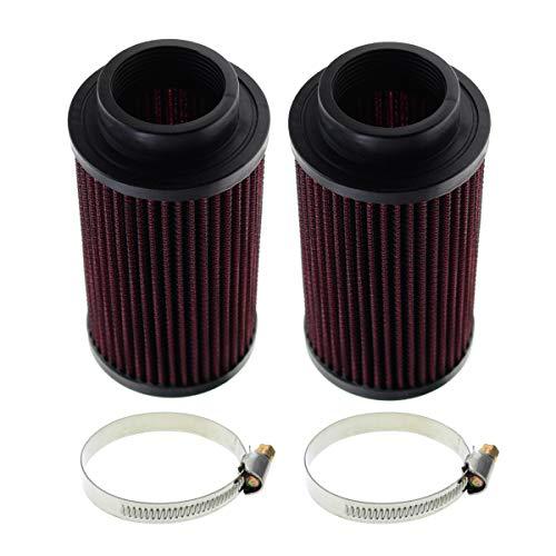 Carbhub RU-0210 Air Filter for Yamaha Banshee 350 YFZ350 K&N Style (Pack of 2) Replaces RU-0210
