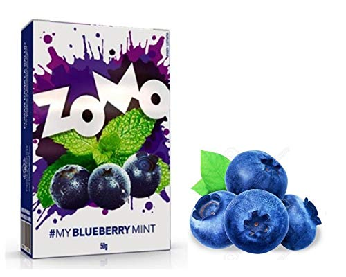 Essencia para Narguile Zomo MY Blueberry Mint 50 G