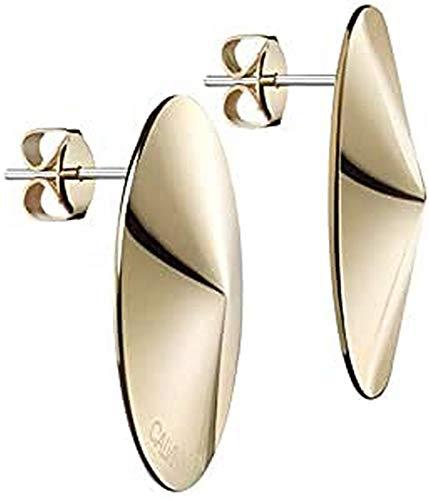 Calvin Klein - Pendientes colgantes - acero inoxidable acero inoxidable 7612635127491
