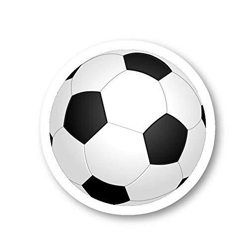 Fußball-Aufkleber, Sport-Aufkleber – 3er-Pack – Set mit 2,5-, 7,6- und 10,2-cm-Laptop-Aufklebern – für Laptop, Handy, Wasserflasche (3er-Pack) S214595