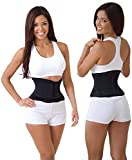 Elexiq Sweat Shaper Slim Belt Women Slimming Waist Trainer Girdle Control Big Belly Waist Cinchers Sexy Body Wrap