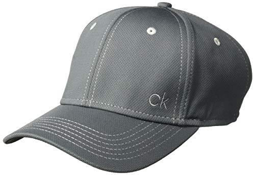 Calvin Klein Golf Herren Ck Performance Meche Baseball Cap, Herren, Baseball Cap, CK Performance Meche Baseball Cap, anthrazit, Einheitsgröße