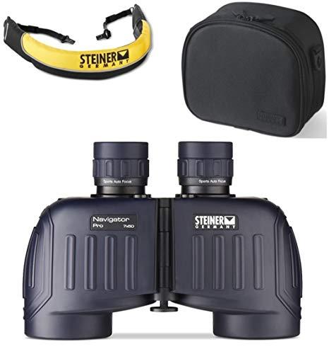 Steiner 7x50 Navigator Pro Binoculars + Float Strap & Premium Case