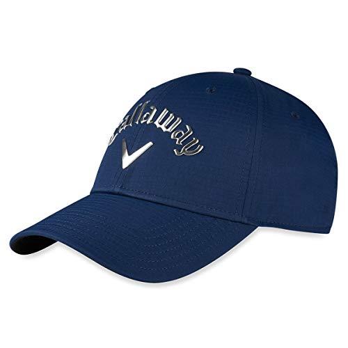 Callaway Golf 2020 Casquette de protection UV réglable en métal liquide - Bleu - Taille Unique