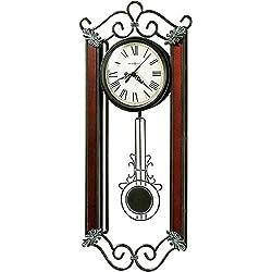 Howard Miller Carmen Wall Clock 625-326 – Wrought-Iron with Quartz Movement