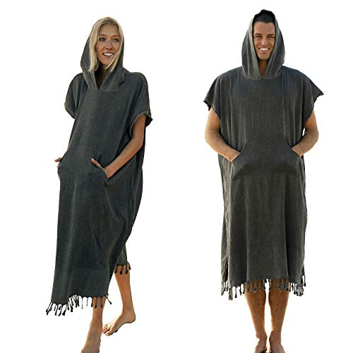 Vintage Turkish Towel Surf Poncho Changing Robe by Lost & Leisure