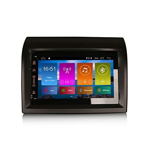 ERISIN 7 pollici Android 10.0 Autoradio per FIAT DUCATO CITROEN JUMPER PEUGEOT BOXER Supporto GPS Sat Nav Bluetooth Wifi 4G DAB + RDS Mirror Link TPMS CarPlay DSP Amplificatore